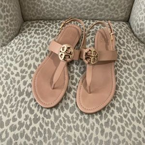 Like New Tory Burch sandals 9-1/2